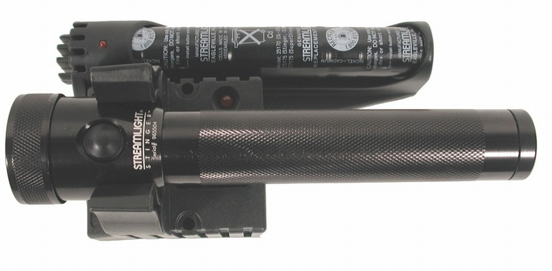 Streamlight Stinger Flashlight DC w/Piggy Back Holder