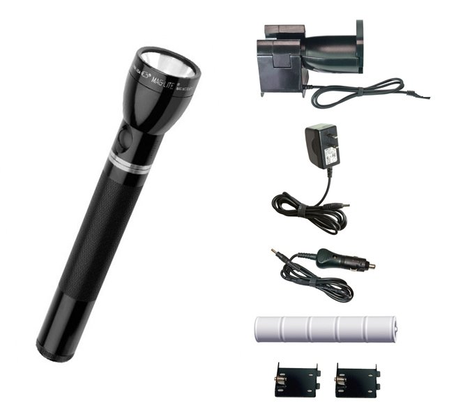 RE-1019 Maglite Charger Multi-Mode System (NiMH Rechargeable Flashlight)