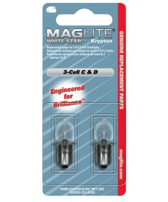 Maglite Whitestar 3 Cell Lamp (2) - LWSA301