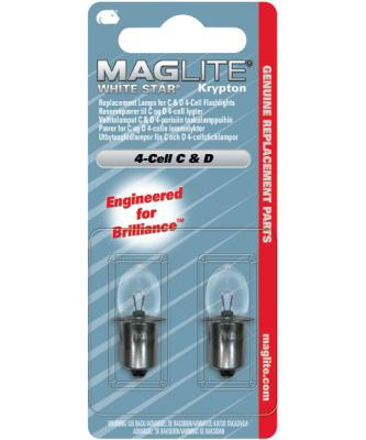 Maglite Whitestar 4 Cell Lamp (2) - LWSA401