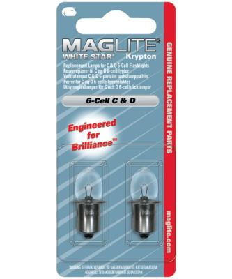 Maglite Whitestar 6 Cell Lamp (2) - LWSA601