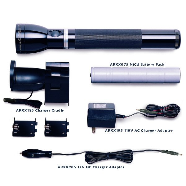 RX-1019 Maglite Charger System (Rechargeable Flashlight) (DISCONTINUED - See RE-1019)