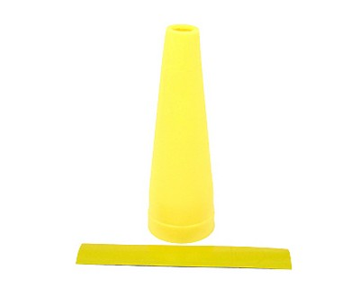 Yellow Traffic Wand Kit