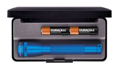 LED Mini Maglite 2-Cell AA Presentation Box Blue